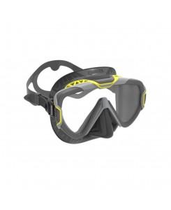 Maschera da sub x-wire Mares 2020 - GIALLO - NERO