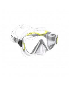 Maschera da sub pure wire Mares 2020 - GIALLO