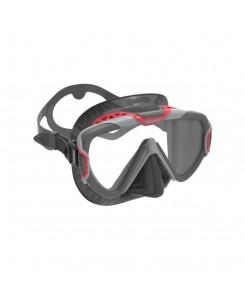 Maschera da sub pure wire Mares 2020 - NERO-ROSSO