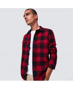 Podium Long Sleeve Flannel...