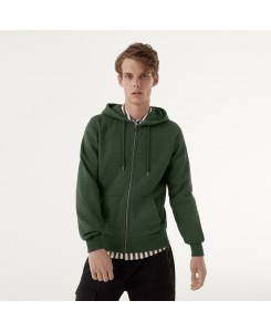 Full Zip Sweatshirt with...
