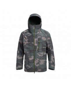 Men's Burton [ak] GORE-TEX Cyclic Jacket - WORMWOOD CAMO