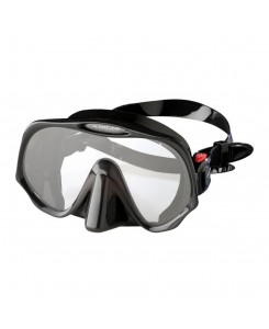 Maschera da sub Atomic Aquatics Frameless Standard Fit - NERO
