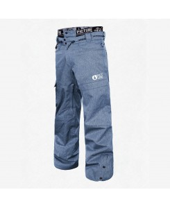 PANTALONI DA NEVE UNDER PICTURE - DENIM